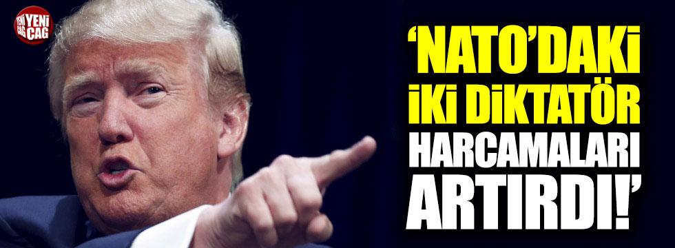 Trump: NATO'da bir veya iki diktatör var