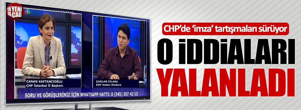 CHP'li Kaftancıoğlu, Yaşar Tüzün'ü yalanladı