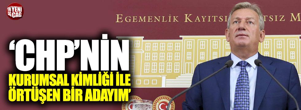 """Pekşen: """"CHP'nin kurumsal kimliği ile örtüşen bir adayım"""""""