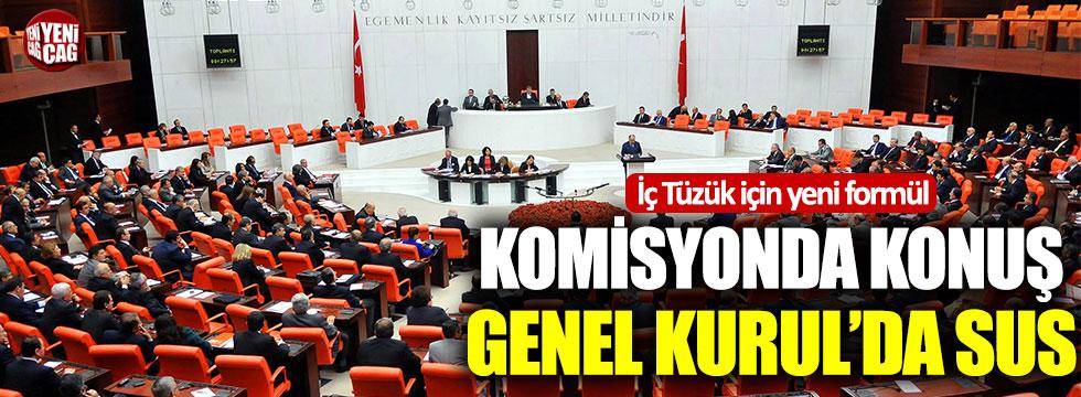 Meclis İç Tüzüğü için komisyon kurulacak