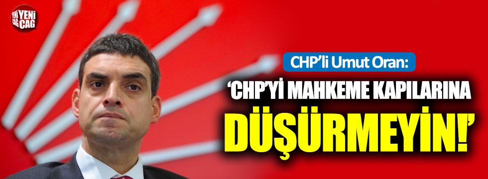 CHP'li Oran'dan kurultay uyarısı