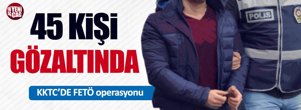 KKTC'de FETÖ operasyonu: 45 gözaltı