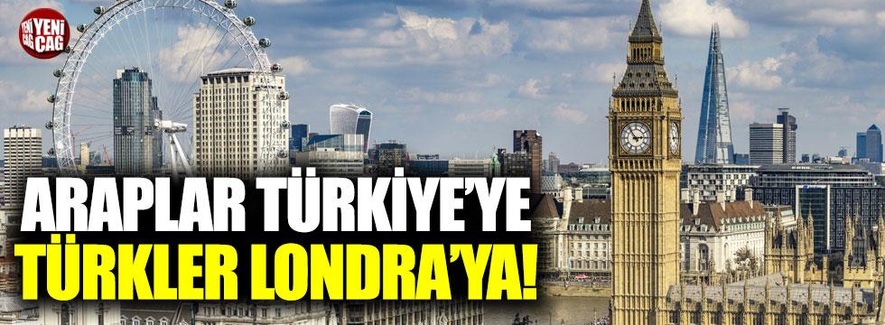 Araplar İstanbul'a, Türkler Londra'ya