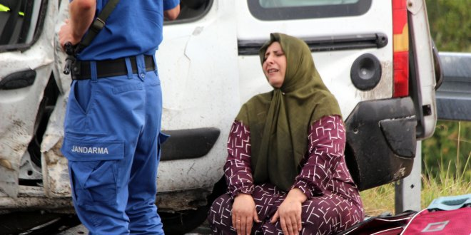 Bolu'da zincirleme kaza: 1 ölü