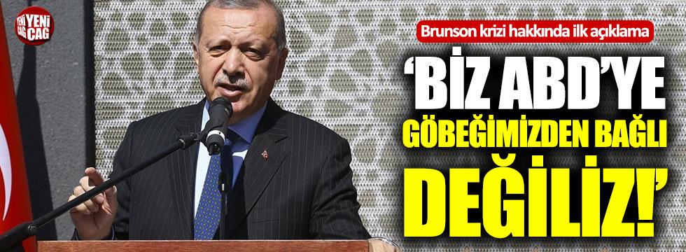 Erdoğan'dan Brunson hakkında ilk açıklama