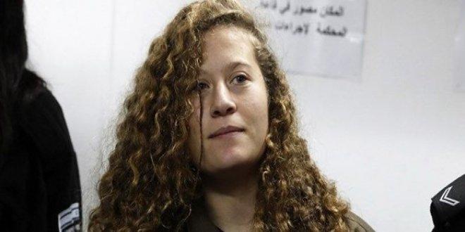 Filistin'in 'cesur kızı' serbest kaldı