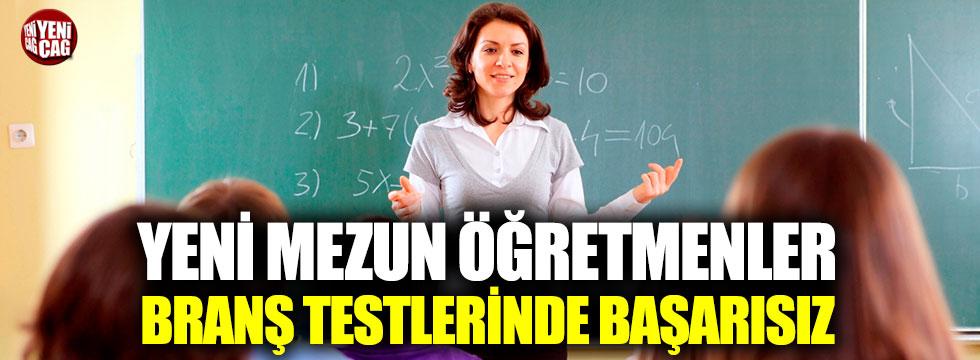 Yeni mezun öğretmenler branş testlerinde başarısız