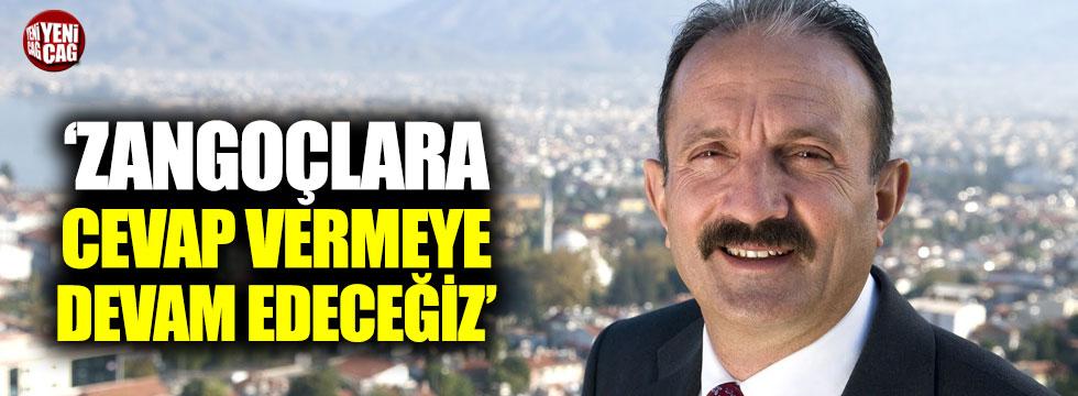 """İYİ Partili Saatcı: """"Zangoçlara cevap vermeye devam edeceğiz"""""""