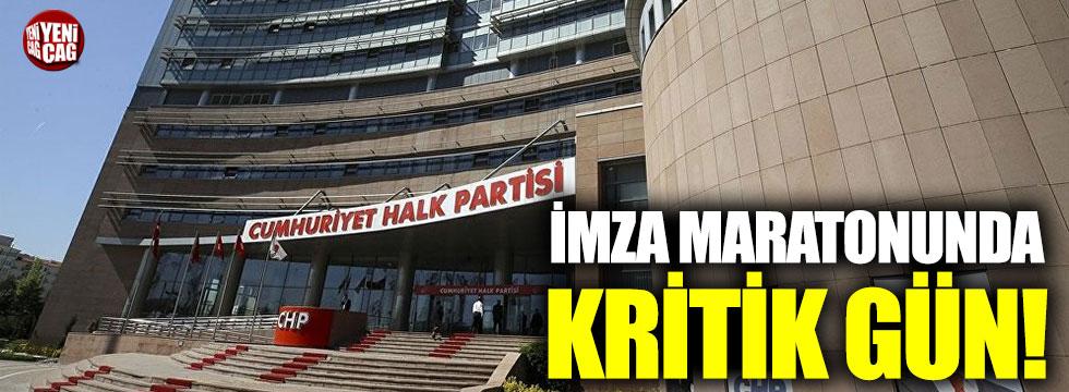 CHP'de imza sürecinde sona yaklaşıldı