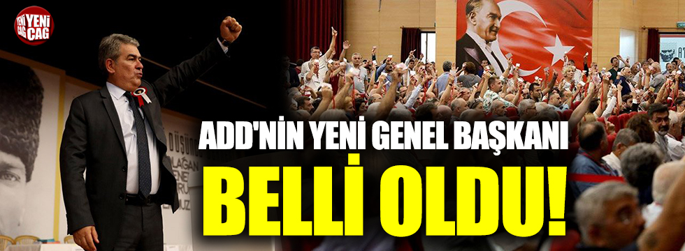 Atatürkçü Düşünce Derneği'nin yeni Genel Başkanı belli oldu