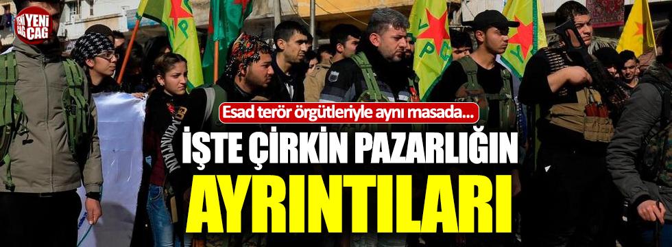 YPG/PKK ile Esad arasında çirkin pazarlık
