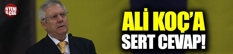 Aziz Yıldırım'dan, Ali Koç'a sert cevap