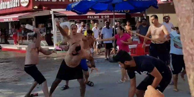 Bursa'da sahilde 'yer' kavgası