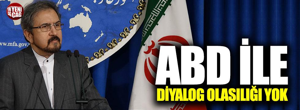 İran ABD'ye kapıyı kapattı