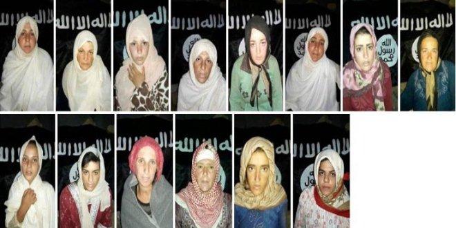 IŞİD, Suriye'de 14 kadını kaçırdı