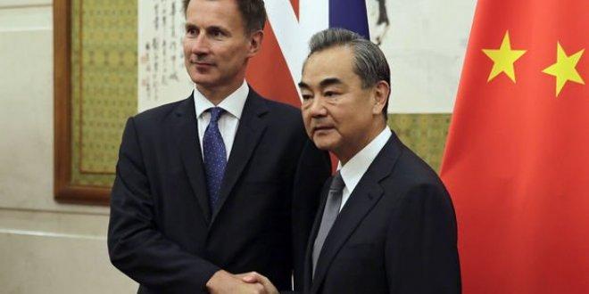İngiltere Dışişleri Bakanı'ndan Çin'de gaf