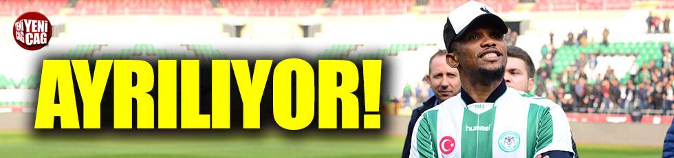 Eto'o Konyaspor'dan ayrılıyor