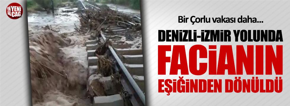 Çorlu'daki kazanın ardından Denizli'de facianın eşiğinden dönüldü