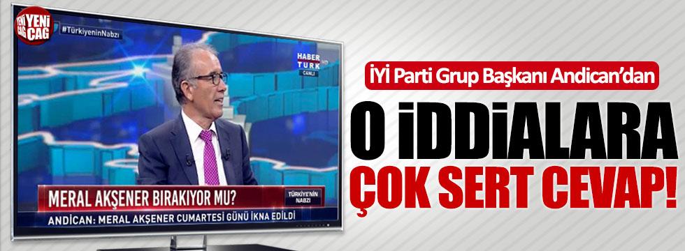 İYİ Parti Grup Başkanı Andican'dan önemli açıklamalar