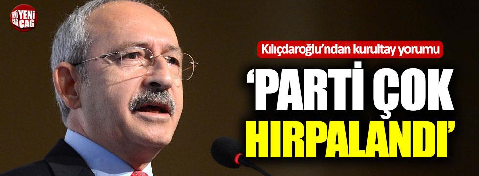 Kılıçdaroğlu'ndan kurultay yorumu