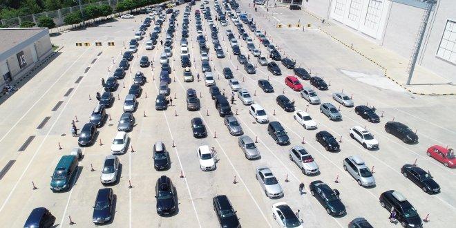 Kapıkule'den bir ayda 727 bin gurbetçi giriş yaptı