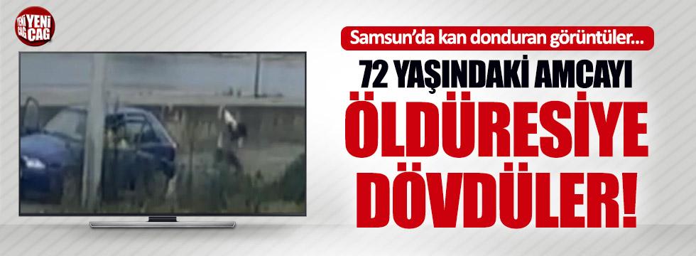Samsun'da 72 yaşındaki amcaya öldüresiye dayak