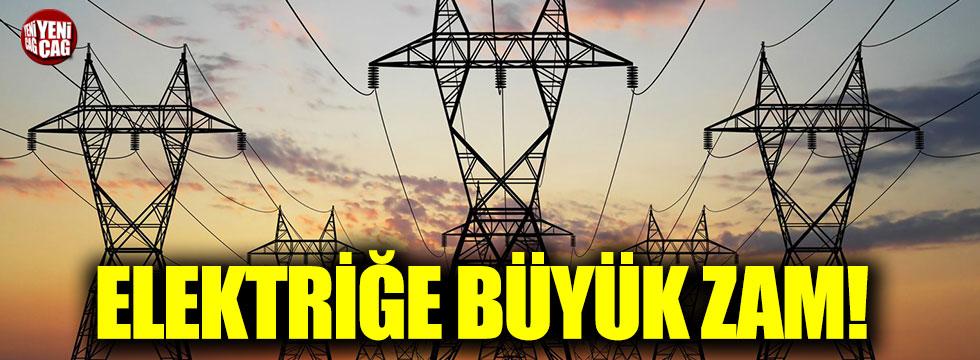 Elektriğe büyük zam!