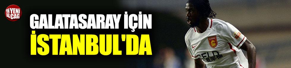Gervinho, Galatasaray için İstanbul'a geldi