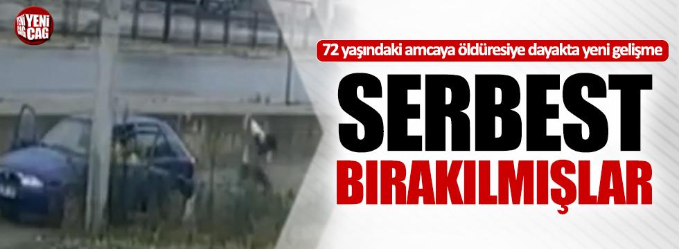 72 yaşındaki amcayı dövenler serbest bırakılmış