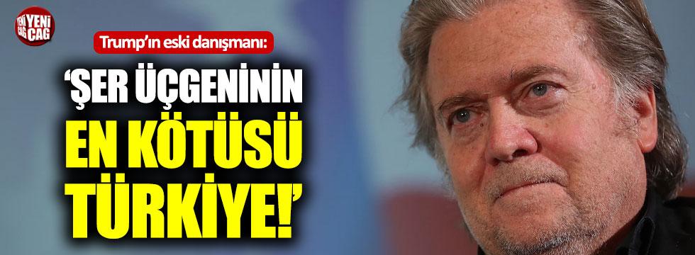 Trump'ın eski danışmanından skandal Türkiye açıklaması