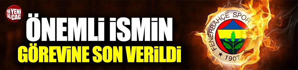 Fenerbahçe'de Hasan Çetinkaya'nın görevine son verildi