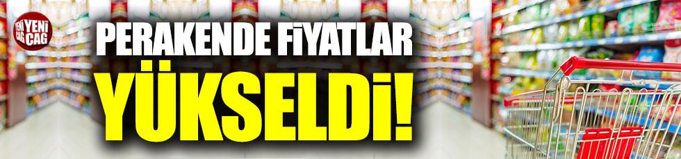İstanbul'da perakende fiyatlar yükseldi