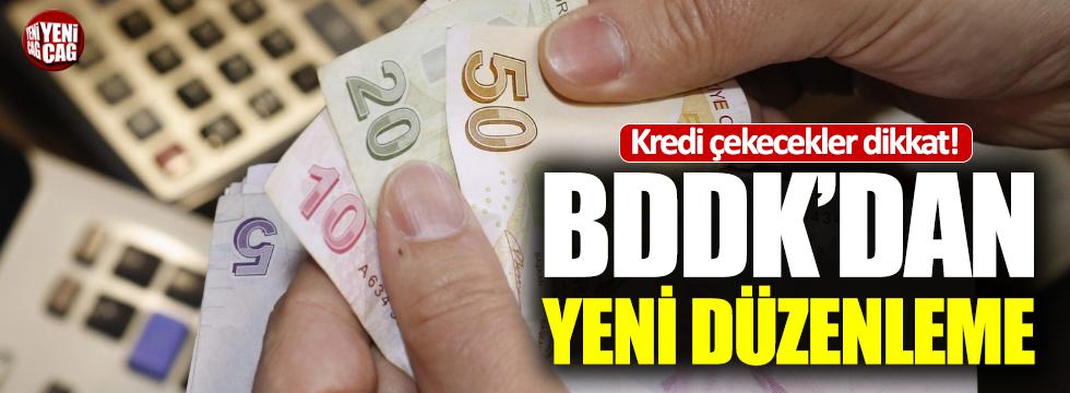 BDDK'dan kredi işlemlerine ilişkin açıklama!