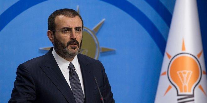 AKP Sözcüsü Ünal'dan ABD açıklaması