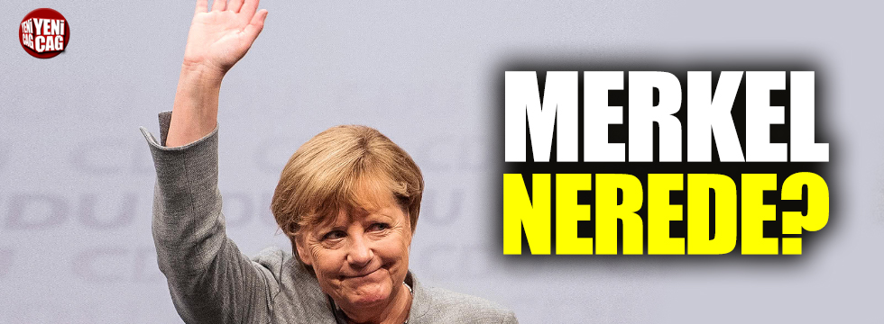 Almanya basını Merkel'i arıyor
