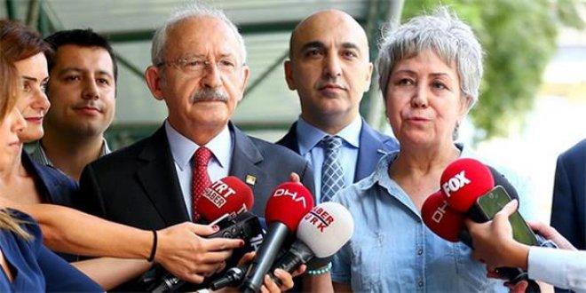 Kılıçdaroğlu'ndan, Berberoğlu'nun eşine ziyaret