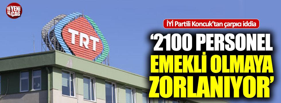 İYİ Partili Koncuk'tan çarpıcı TRT iddiası