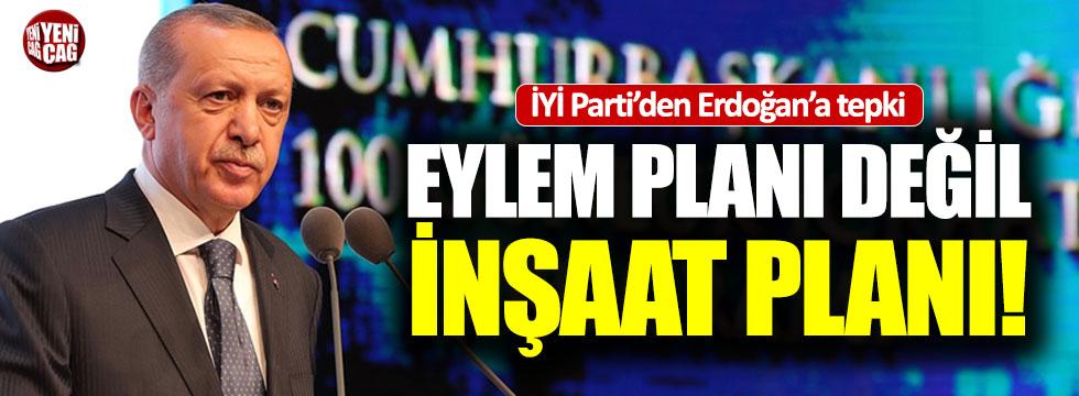 İYİ Parti'den, AKP'nin eylem planına tepki