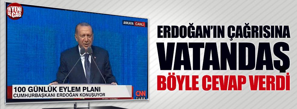 Erdoğan'ın 'döviz çağrısına' vatandaş böyle cevap verdi