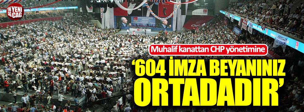 CHP'de kurultay isteyen muhalif kanattan yeni açıklama