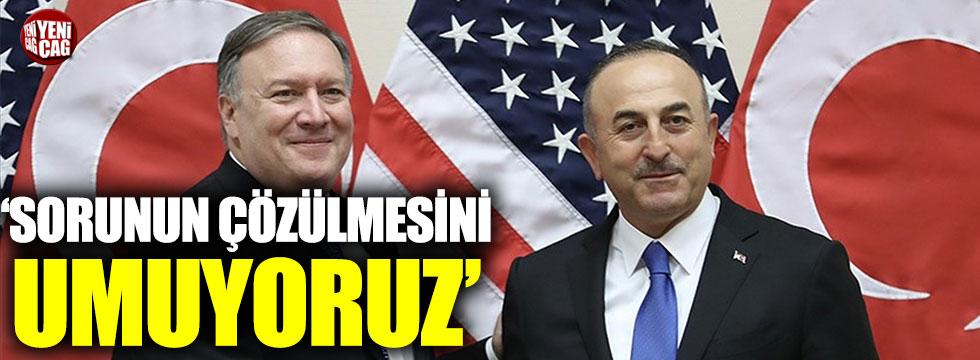 ABD Dışişleri Bakanı Pompeo'dan görüşme açıklaması