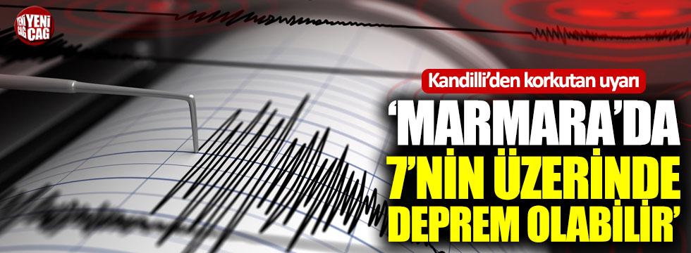 Kandilli'den Marmara depremi için korkutan uyarı