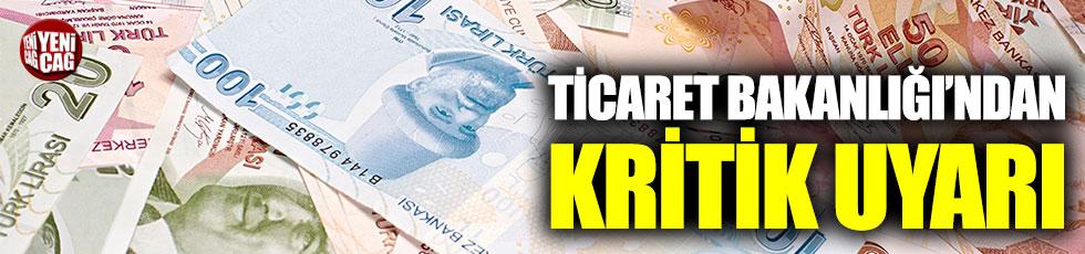 Ticaret Bakanlığı'ndan hesap işletim ücreti açıklaması