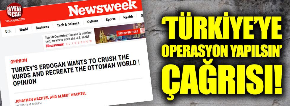 'Türkiye'ye operasyon yapılsın' çağrısı!