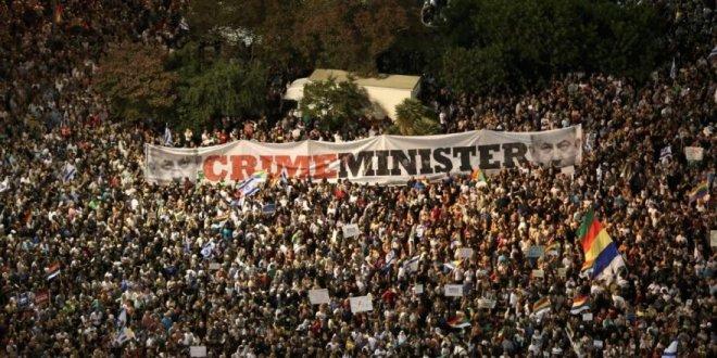 İsrail'de Araplar tartışmalı yasayı protesto etti