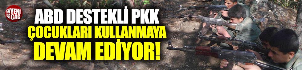 PKK'nın çocukları savaştırdığı bir kez daha kanıtlandı