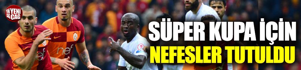 Galatasaray - Akhisarspor maçının muhtemel 11'leri belli oldu