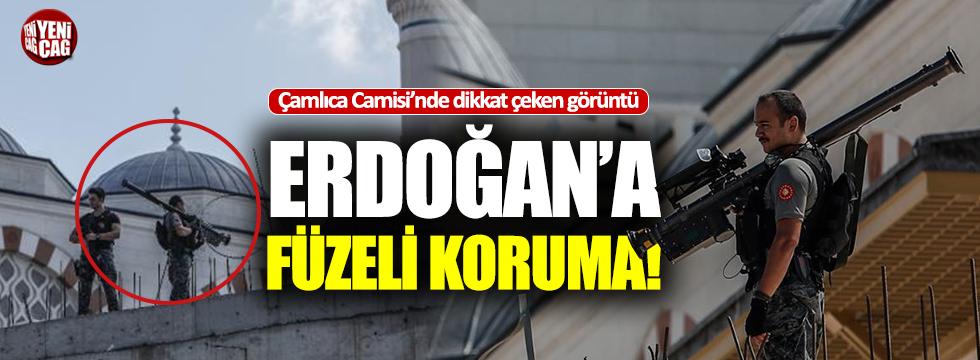 Erdoğan'a füzeli koruma