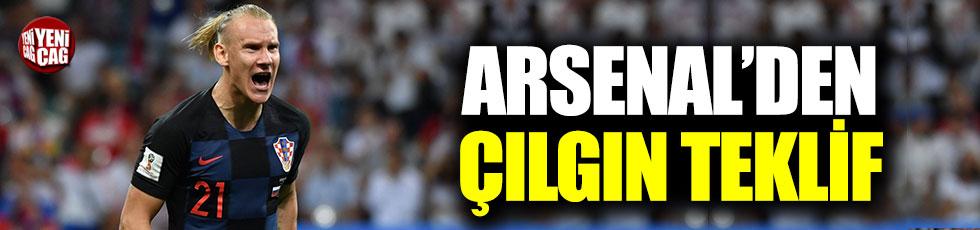 Arsenal'den Vida için çılgın teklif