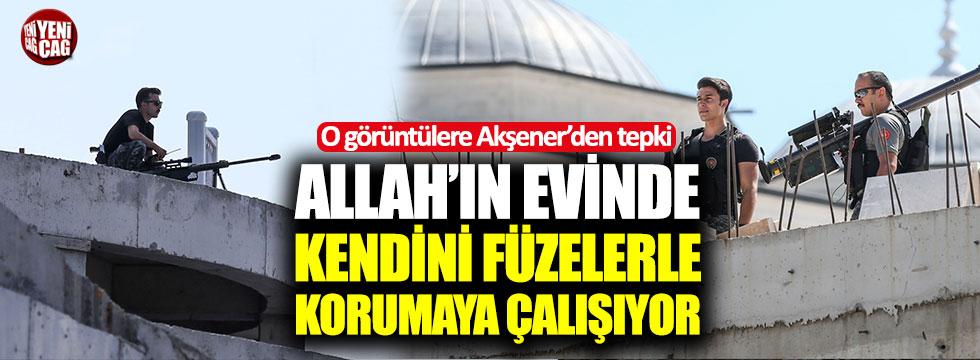 Akşener'den, Erdoğan'a koruma tepkisi